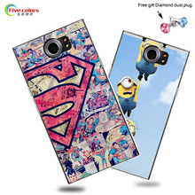 Colorful case for Blackberry Priv back shell with perfect design painting skin cover for Blackberry Priv cover cases