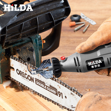 HILDA Saw Sharpening Attachment Sharpener Guide Drill Adapter for Dremel drill Rotary accessories(China)