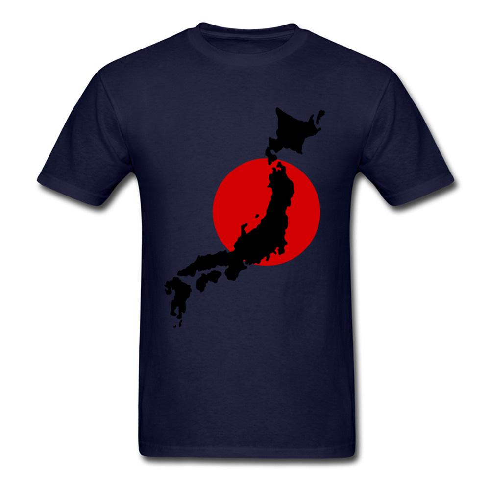 Japan Graphic Normal Summer Cotton Round Neck Men Tops Tees Birthday T Shirts On Sale Short Sleeve Tshirts Drop Shipping Japan Graphic navy