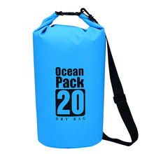 10L 20LOutdoor PVC Waterproof Bag Swimming Dry Sack Storage Bag Pouch Rafting Sports Kayaking Canoeing Swimming Bag Travel Kits