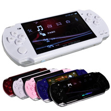 10pcs OWLLON Built-in 5000 games, 8GB 4.3 Inch PMP Handheld Game Player MP3 MP4 MP5 Player Video FM Camera Portable Game(China)