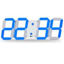 Remote Control Large LED Digital Wall Clock Modern Design Home Decor 3D Decoration Big Decorative Watch