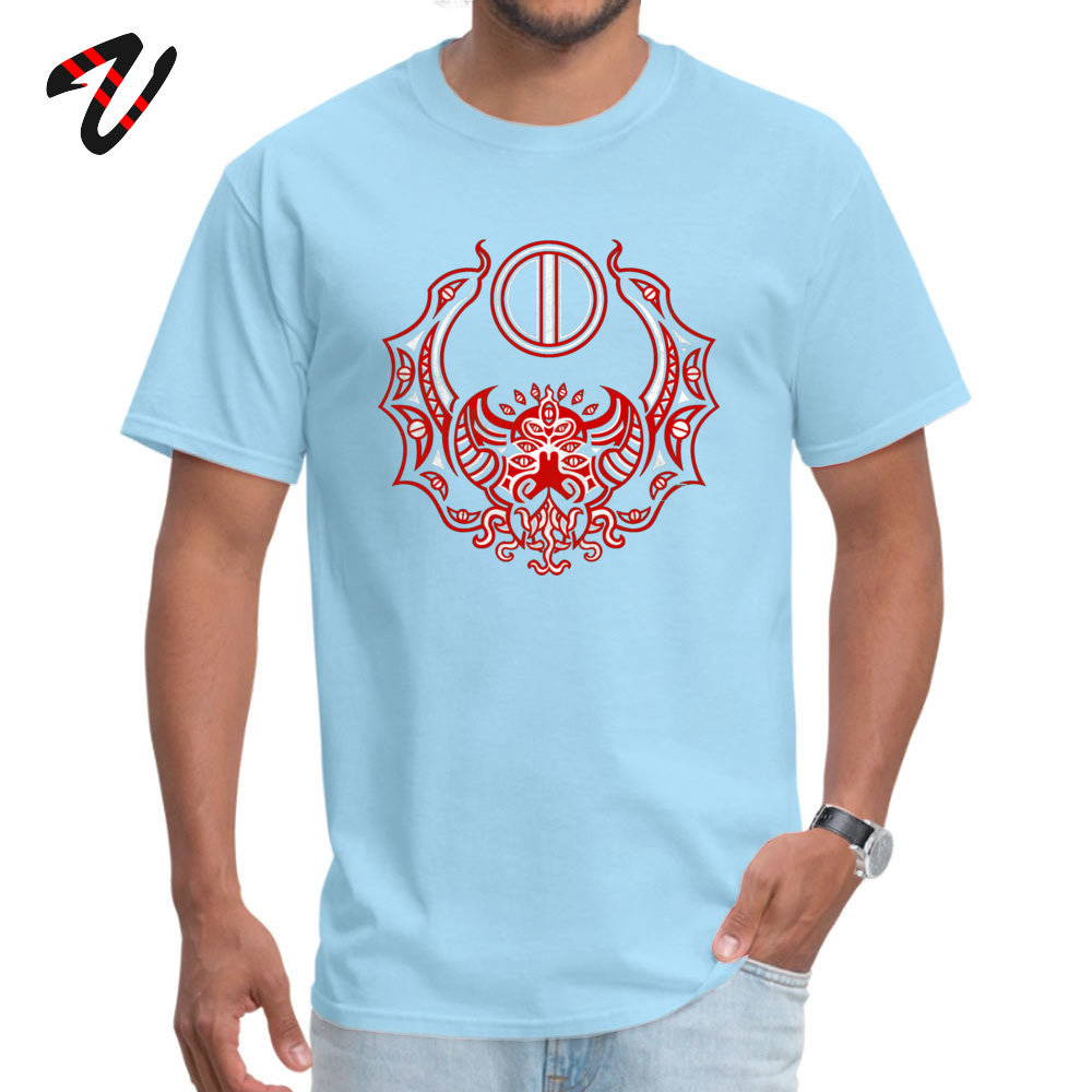 Men T Shirts Casual comfortable Tees 100% Cotton Fabric O-Neck Short Sleeve Family Tshirts Summer Drop Shipping The Crimson Bat Steed of the Red Goddess by Kalin Kadiev -500 light