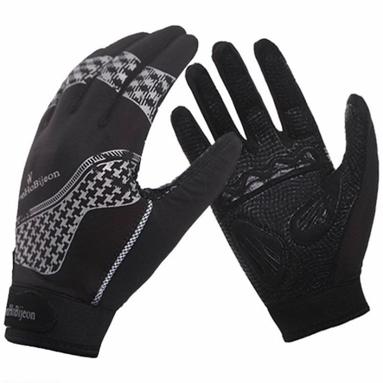 Cheap cycling in autumn and winter sports riding really fall and winter full finger gloves sunscreen damping operation<br>