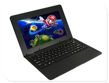 10inch mini laptop netbook 1GB RAM 8GB Via 8880 dual core Cortex A9 with camera WIFI android 4.2 kids  netbook