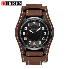 Buy Curren 8279 Military Quartz Mens Watches Top Brand Luxury Leather Waterproof Sport Men Wristwatches Male Clock Relogio Masculino for $15.29 in AliExpress store