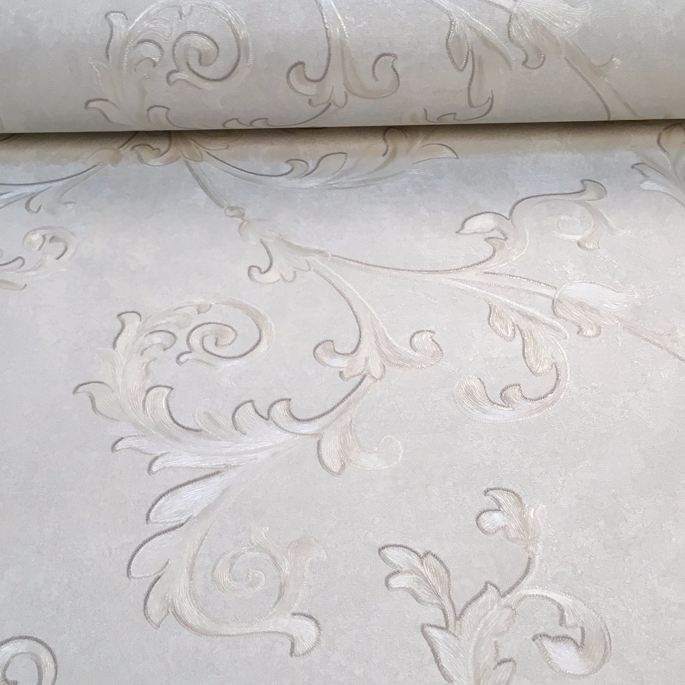 High Quality Floral Textured Wallpaper PVC Vinyl Elegant Wall Paper Roll papel de parede Living Room Background Papier Peint<br><br>Aliexpress