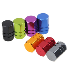 -35% Off 4Pcs Universal Wheel Rims Stem Tire Tyre Air Valve Caps Dust Cover Car Truck Bike 5 Colors Tyre Caps(China)