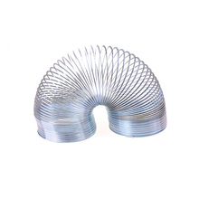 Classic Stress-Relieve Copper Magic Slinky metal Rainbow Spring Gag Toy kids Gift(China)