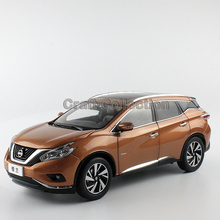 * New 1:18 Nissan Murano SUV 2016 Brown Metal Model Car Gifts Model Car Kits Simulation Model Limited edition