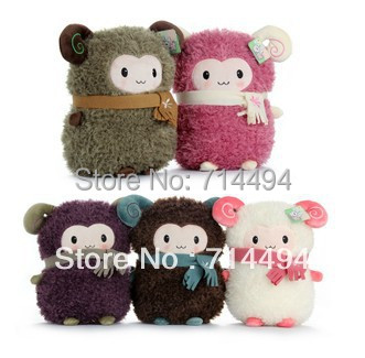 Cute Stuffed Plush Toy Sheep Soft Doll With Scarf Selling Toys For Girl Free Shipping<br><br>Aliexpress