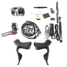 2016 New SHIMANO DURA ACE 9000 9070 Di2 Electronic 2x11 2*11 Speed Road Bike Bicycle Electric Groupset(China)