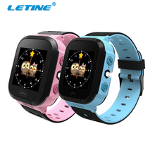 Letine Q528 Touch Clock Baby Kids Children's Wrist Smart Watch with GPS Flshlight Camera SIM Card for Samsung Android Cell Phone