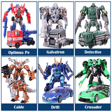 2016 Anime transformation 4 Toys Robot Car Action Figure Galvatron Hound Drift Crosshairs Brinquedos Kids Toys Gifts