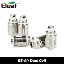 Buy 5pcs/lot Authentic Eleaf GS-Air Dual Coil 1.5ohm Electronic Cigarette Atomizer Coils Head Eleaf GS Air Atomizer Tank Vape for $9.49 in AliExpress store