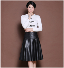 Buy New Arrival 2017 Autumn Winter Latest Korean Slim 100% Top Genuine Leather Skirt Pleated Skirts Tutu Women for $126.38 in AliExpress store