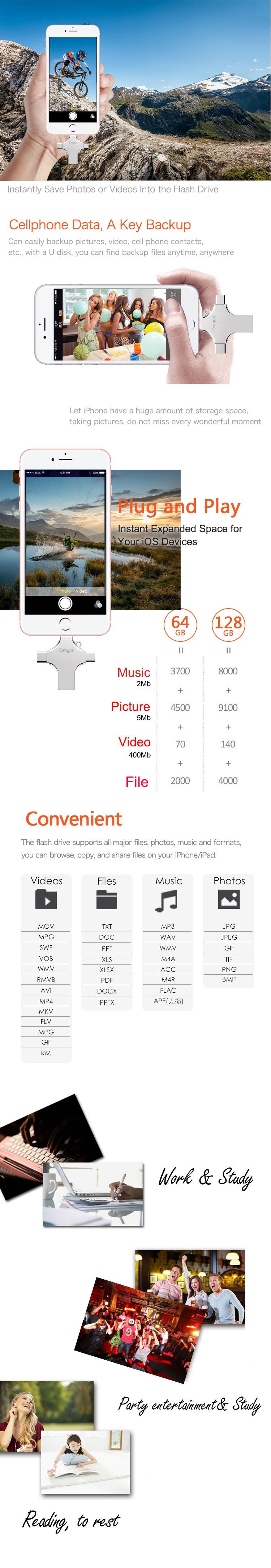 4in1 USB Flash Drive