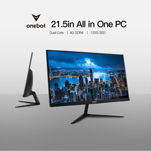 Onebot AK22 21.5in All in One Desktop Computer Gaming PC Dual Core Intel Celeron 3865U 4GB DDR4 RAM 120G SSD 16:9 FHD 178D angle(China)
