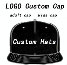 Adult Customized Baseball Caps LOGO Embroidery Snapback Cap Customized Hats Wholesale(China)