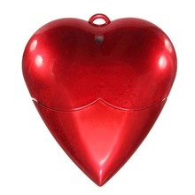 High Speed Special Lover Gift Red Love Heart Style MECO 4GB USB 2.0 Flash Pen Drive USB Memory Thumb Stick Pendrive U Disk