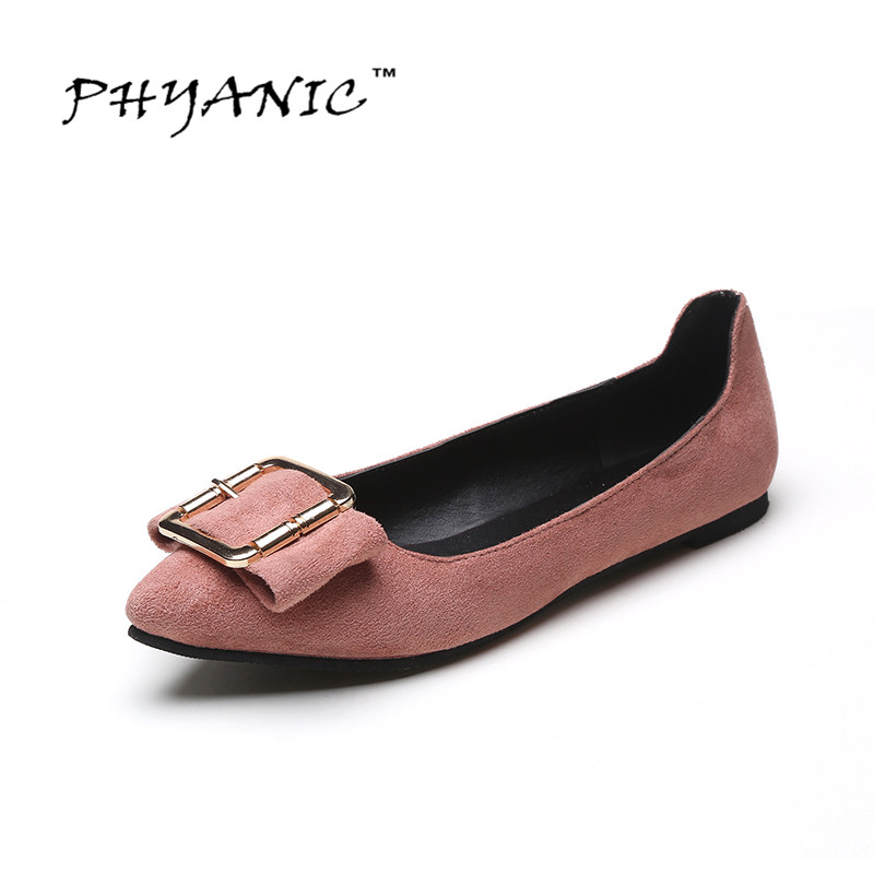 PHYANIC 2017 Slip on Woman Shoes 2017 Summer Black Flat Shoes Women Lightweight Cheap Ballet Women Shoes Ballerina Flats<br><br>Aliexpress