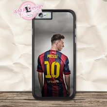 Leo Messi Football Sport Fans Protective Case For iPhone X 8 7 6 6s Plus 5 5s SE 5c 4 4s For iPod Touch(China)