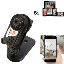 Q7 Mini Wifi DVR Wireless IP Camcorder Video Recorder Camera Infrared Night Vision Camera Motion Detection Built-in Microphone(China)