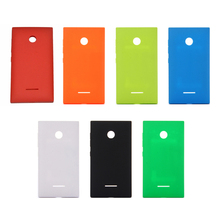 Colorful Back Cover For Nokia Lumia 435 N435 Housing Case Replacement Rear Battery Door Assembly New Arrival P15