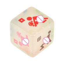 1PC Luminated Sex Dice Erotisch Couples Adult Game Fun Dice Sexy Toys Gambling Cube for Adult Sex Flirtation