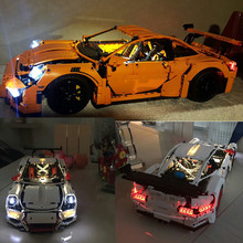 Led  Light kit (only light included ) for lego 42056 and  Compatible with lepin 20001 TECHNIC 911  (not includ car bricks set