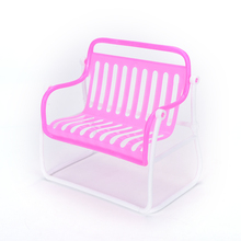 New Furniture Sofa Chair Armchair Lounge For Barbie Pink Doll Princess Doll House Furnitures Accessories Girls Best Gifts 1PC