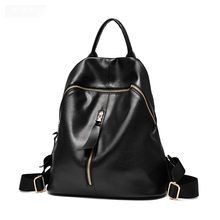 2016 Hot Fashion Soild Style Women's Backpack High Quality PU Leather Backpack Beautifully Student Bag For Young Ladies