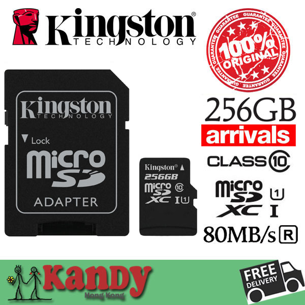 Kingston micro sd card memory card 16gb 32gb 64gb 128gb 256gb class 10 microsd cartao de memoria tarjeta micro sd carte sd tf<br><br>Aliexpress
