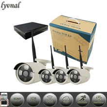 sony 1080p wifi system 4pcs wireless ip camera Surveillance cameras with 8 channel nvr kit 1tb 2tb hdd onvif p2p Security system(China)