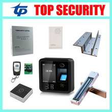 Good quality cheap price TCP/IP biometric fingerprint access control system fingerprint door clock with card reader(China)