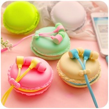 3.5mm Top Quality Birthday Gift Macaron Earphone Headphones Headset For Xiaomi Samsung iPhone HTC Sony etc