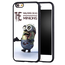 Walking Dead Zombie Minions case Cover For Samsung S8 S8plus S4 S5 S6 S7 edge Note 2 Note 3 Note 4 Note 5