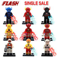 Single sale 100 pcs DC super hero Flash Mini Dolls Collection TOYS GIFT Building Block Best Children Gift Toy(China)