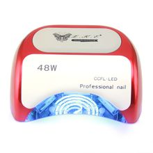 48W CCFL Nail Dryer Polish Machine UV Lamp LED Lamp Nail Lamp for Curing Nail Polish Gel Nail Art Automatic Hand Sensor