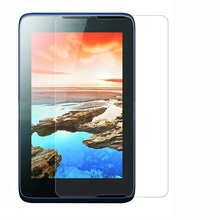 9H 2.5D Tempered Glass Screen Protector Film for Lenovo Tab A7-50 A3500 + Alcohol Cloth + Dust Absorber(China)
