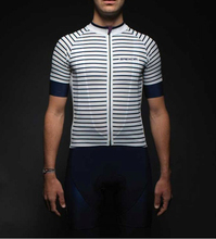 ENJOY RIDE SPEXCEL NAVY stripe DESIGN high quality FABRIC SLEEVE LIGHTWEIGHT PRO TEAM SHORT CYCLING JERSEY ROAD CYCLING GEAR