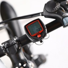 SunDing SD-548B Bicycle Bike Computer LCD Digital Display Bicycle Speedometer Cycling Stopwatch Drop Shipping