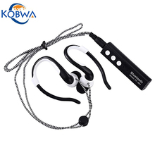 Kobwa Wireless Head Phones Blue Tooth V4.1 Running Headset Stereo English Voice Studio Earbuds With Microphone For Apple Android(China)