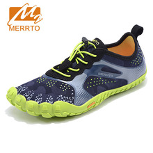 MERRTO Man Anti Skid Outsole Aqua Shoes Quick Drying Sneakers Sports Sandal Shoes Breathable Flats Outdoor Five Finger Shoes(China)