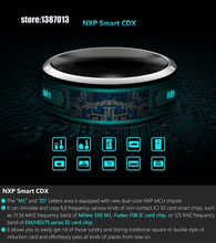 Men woman black Smart Rings Wear Jakcom R3 NFC Magic For iphone Samsung HTC Sony LG IOS Android Windows NFC Mobile Phone