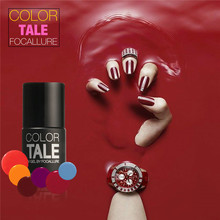 12 Colors 12ML Win Red Series 12 Colors Pick 1 UV Gel Nail Varnish Nail Gel Polish Gel LED UV Nail Art Manicure by Focallure(China)