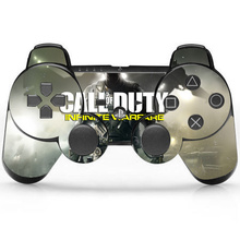 Call Of Duty Vinyl Skin Sticker Protector for Microsoft PS3 Controller Skins Stickers For PS3 CON-007(China)