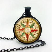 2017 Popular Women's Necklace Jewelry Pendant Clothes Exquisite Valuable Stone Sweater Necklace Compass Time Precious Stones NEW(China)