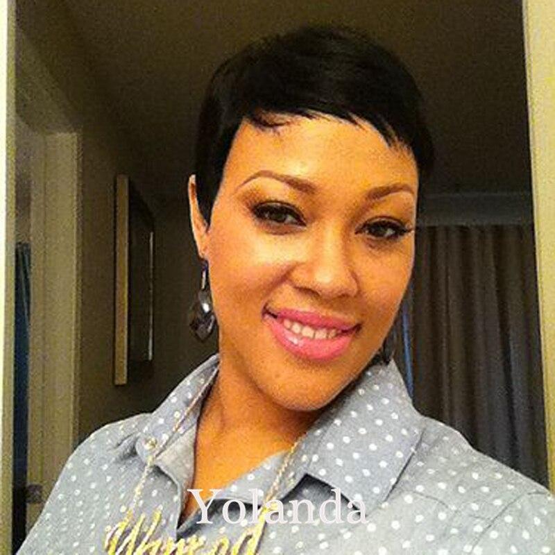 7A Brazilian Human Short Hair Glueless None Full Lace Human Short Hair Wigs With Baby Hair Human Best Hair Wigs For Black Women<br><br>Aliexpress