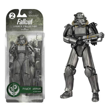 "Two Colors Fallout 4 PVC Action Figure 8"" Power Armor Out of Clothing Toys Gifts Collections Displays Brinquedos(China)"